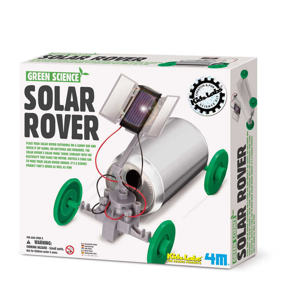 4M Green Science Eco-Engineering® Solar Rover