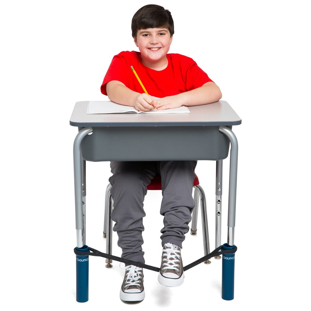 Alternate Image #2 of Bouncy Bands® for School Desks - Increase Focus and Decrease Anxiety