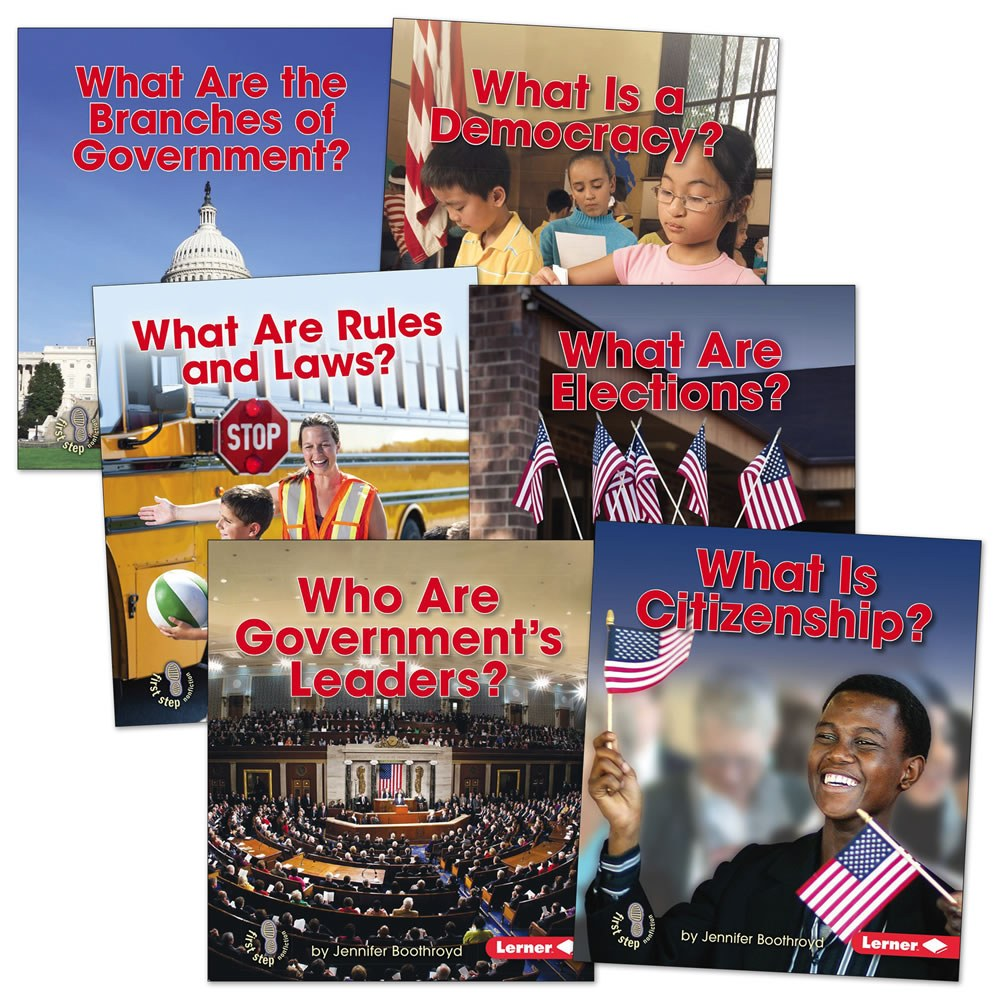 Exploring Government Books - Set of 6