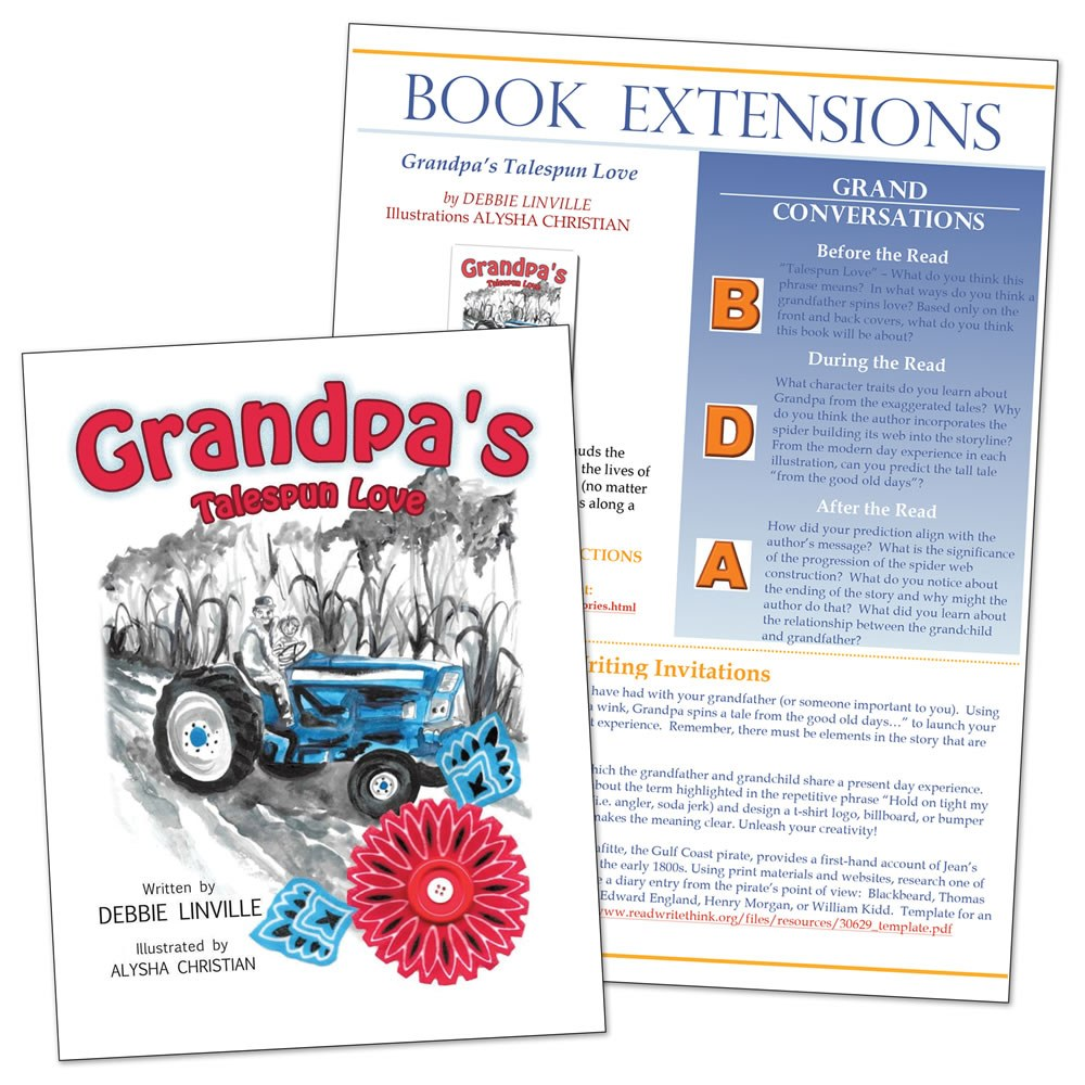 Grandpa's Talespun Love with Book Extensions