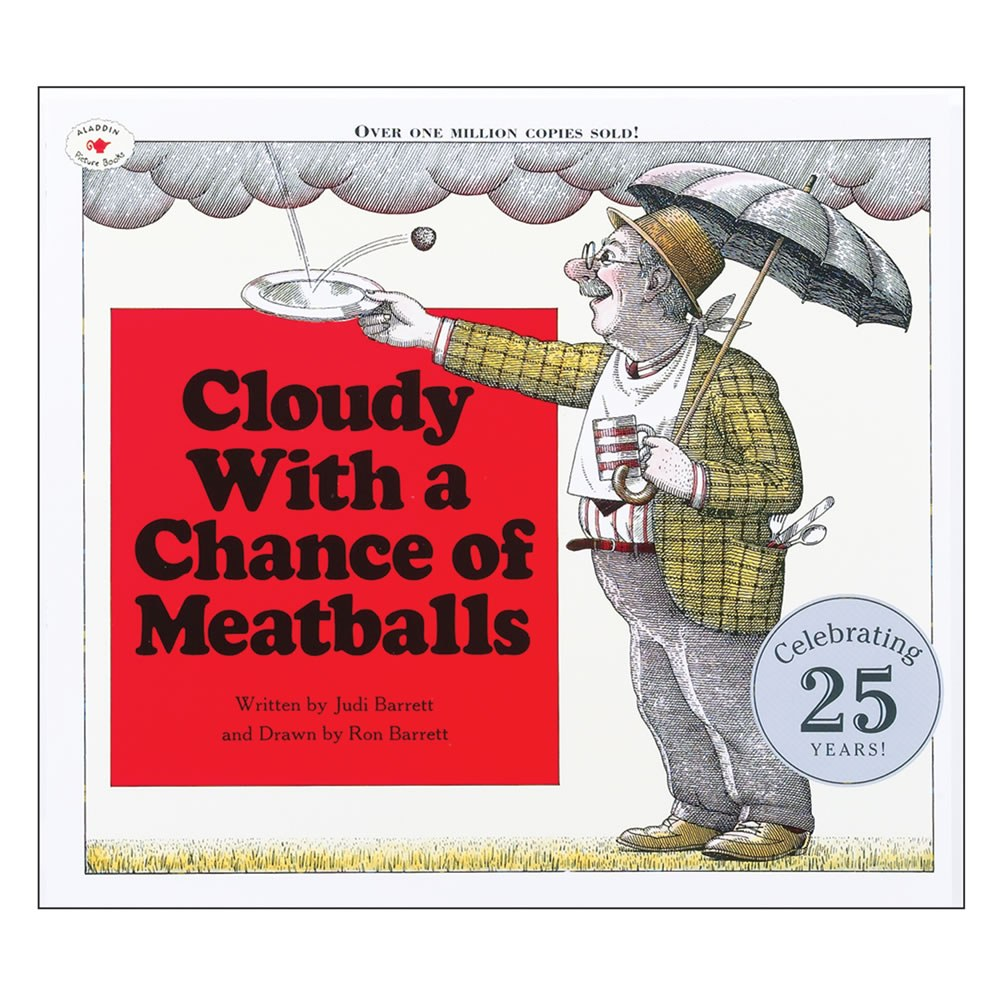 Cloudy With A Chance of Meatballs - Paperback