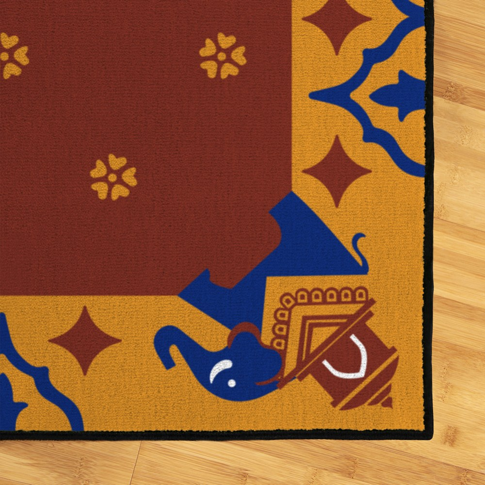 Alternate Image #1 of Cultural 4' x 6' Carpet - India