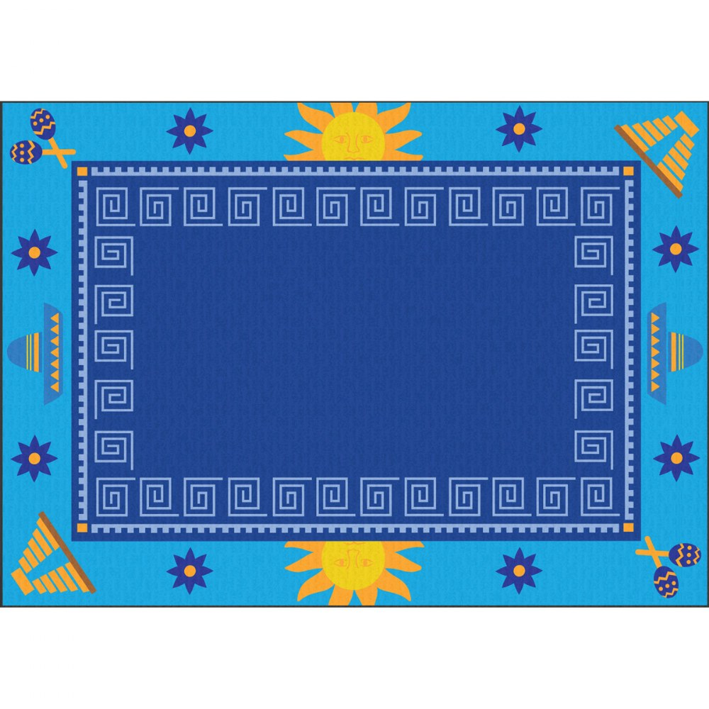 Cultural 4' x 6' Carpet - Mexico