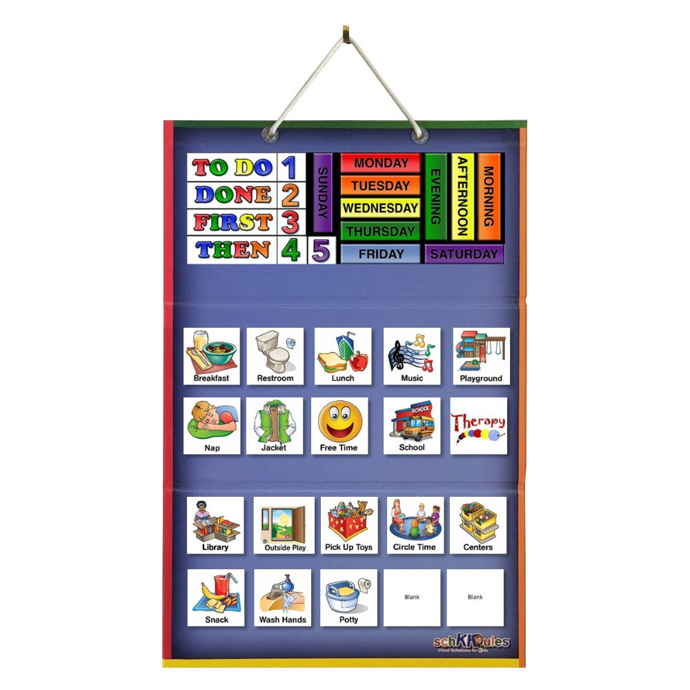 Alternate Image #3 of Tri Fold Magnetic Board and Accessories