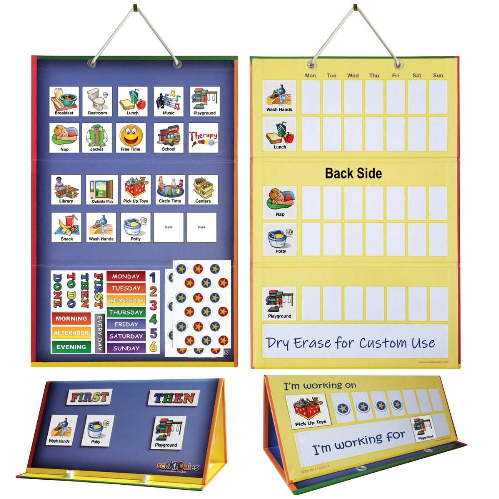 Alternate Image #6 of Tri Fold Magnetic Board and Accessories
