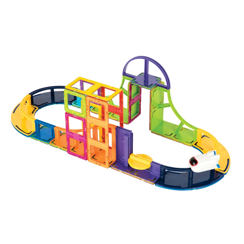 Alternate Image #1 of Sky Track Adventure Set - 64 Pieces