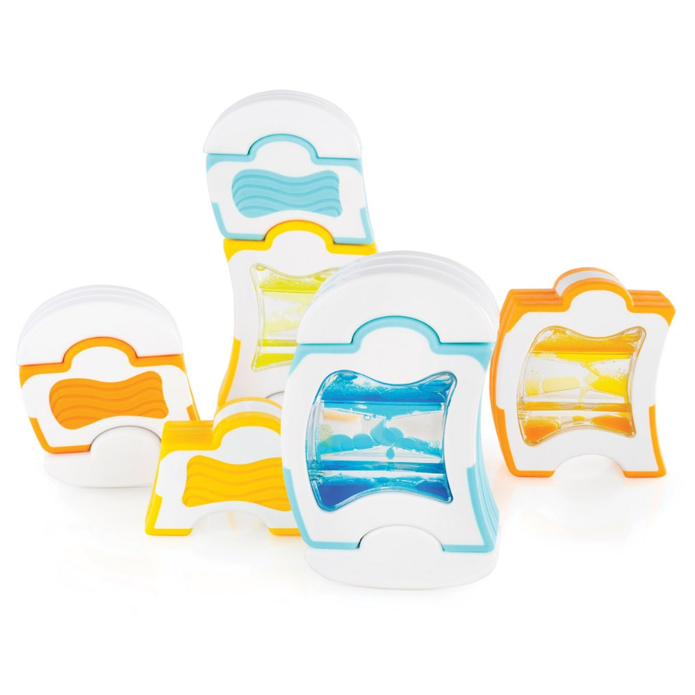 Alternate Image #1 of Grippies® Waves STEM Magnetic Building Set - 20 Pieces