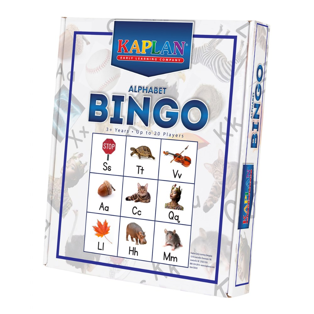 Alternate Image #2 of Alphabet Bingo Matching Letter Recognition Kid's Learning Game