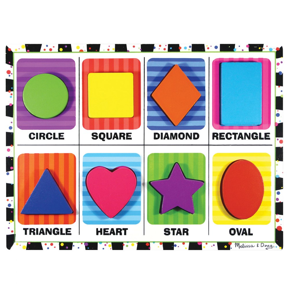 Alternate Image #6 of Chunky Raised Puzzles - Set of 6