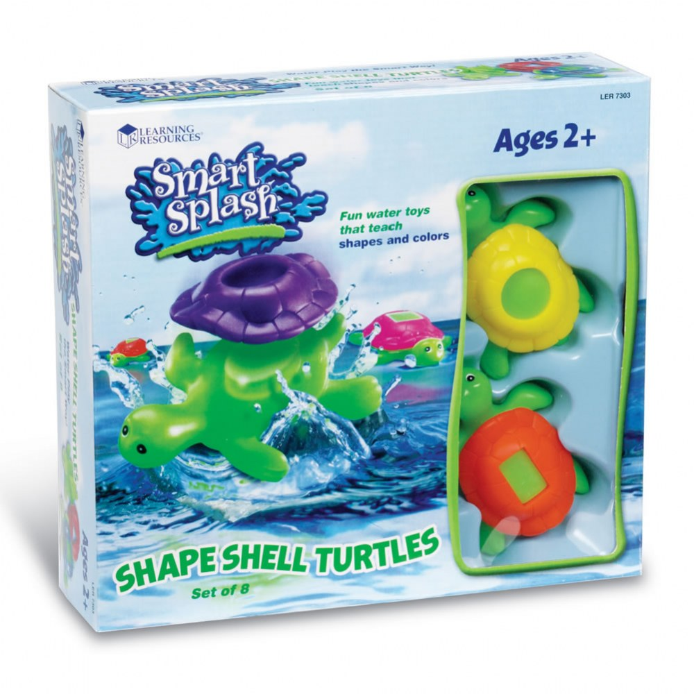 Alternate Image #3 of Shape Shell Turtles - Set of 8