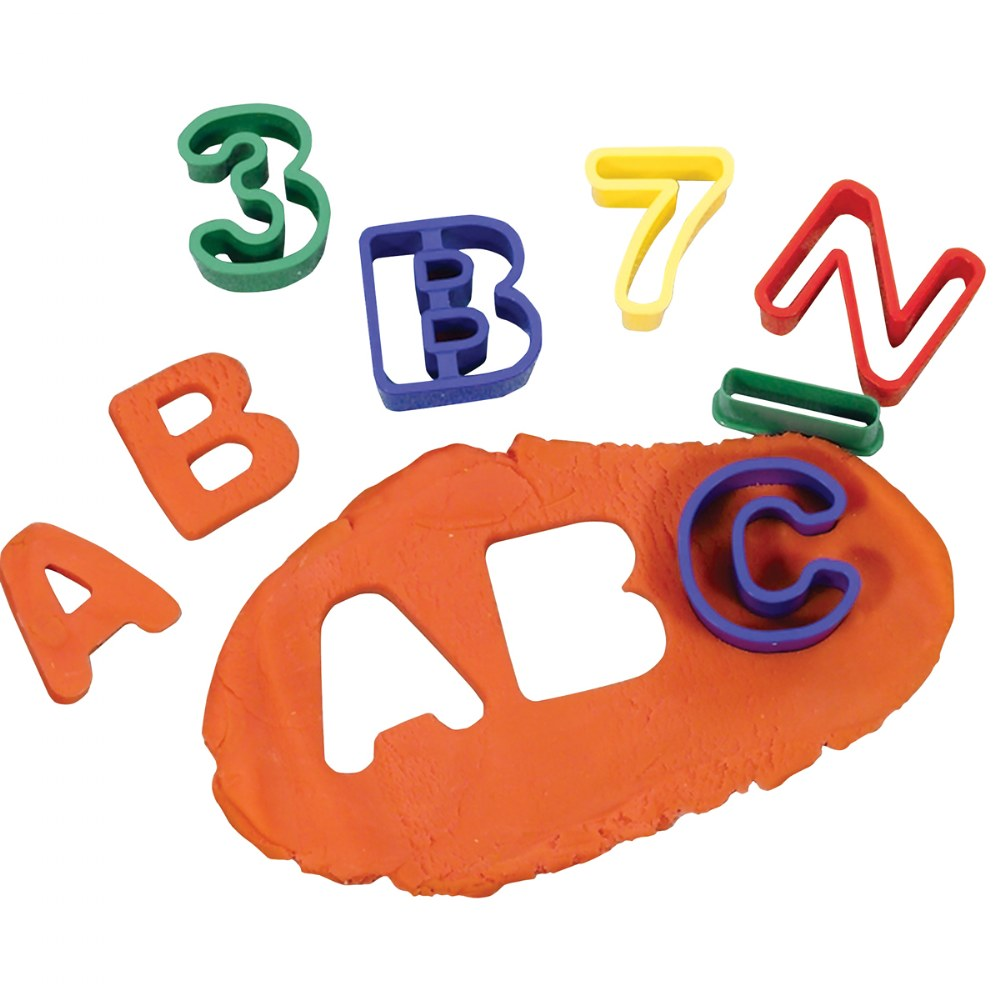 Alternate Image #1 of ABC & Numbers Dough Cutter Set