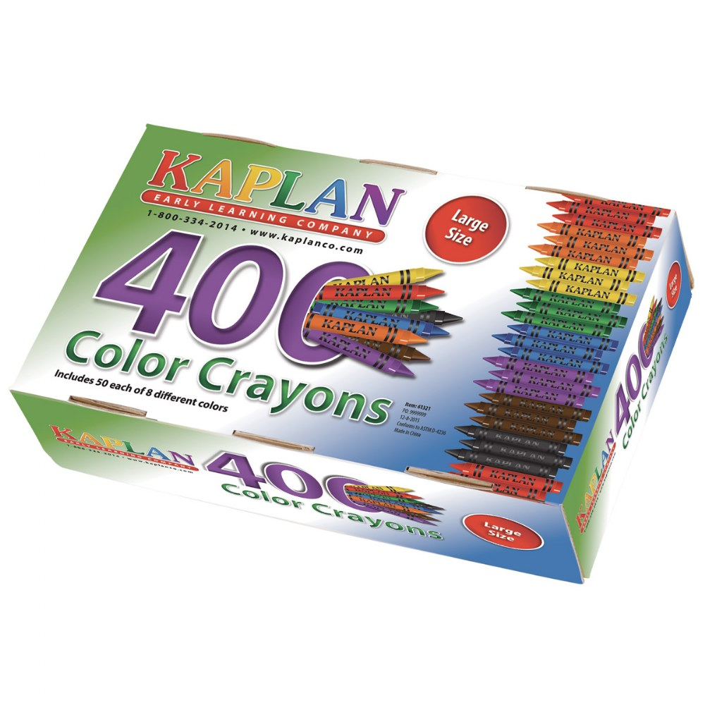 Large Crayons Class Pack (400 Per Box)