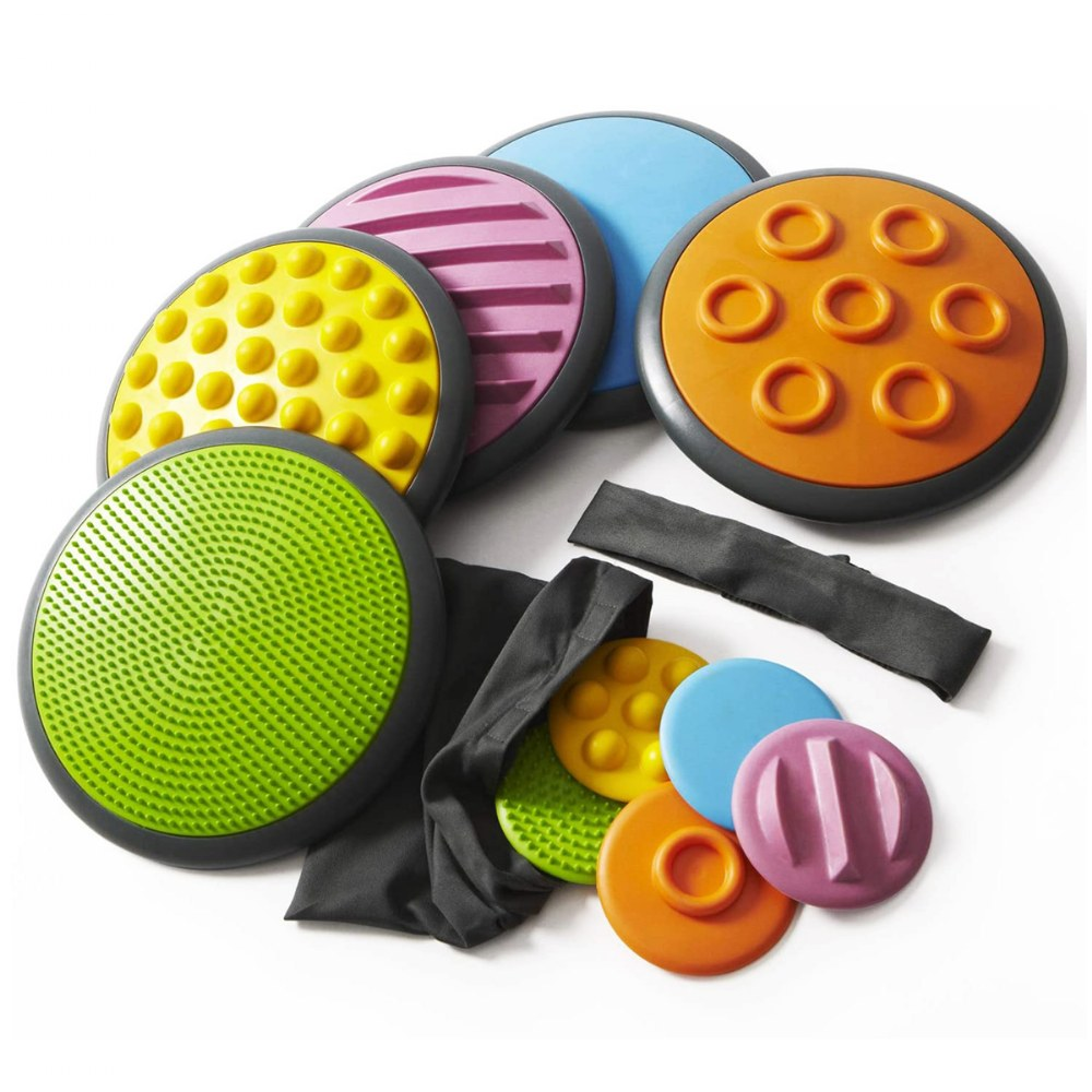 GONGE Tactile Discs - Set of 8