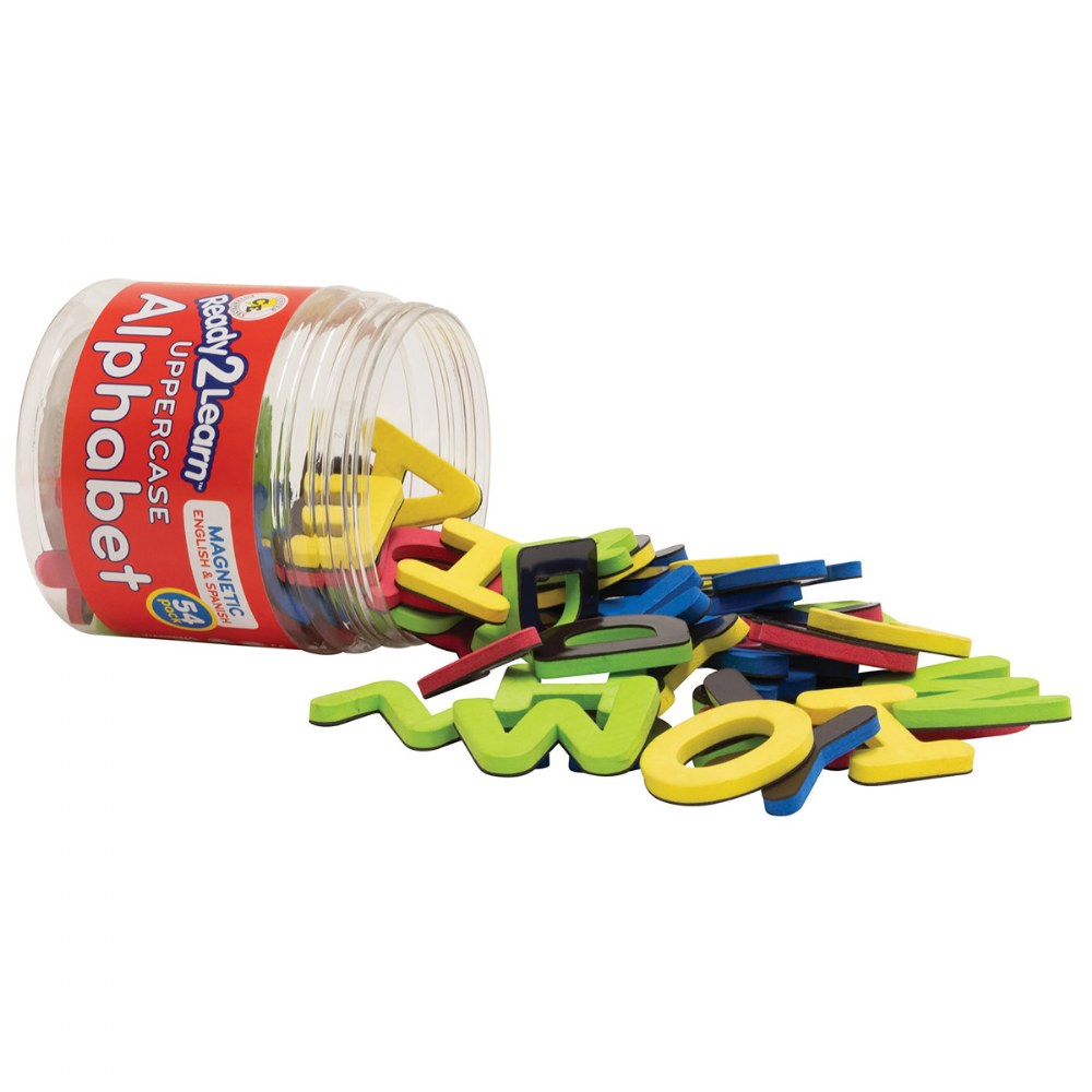 Bilingual Magnetic Foam Alphabets