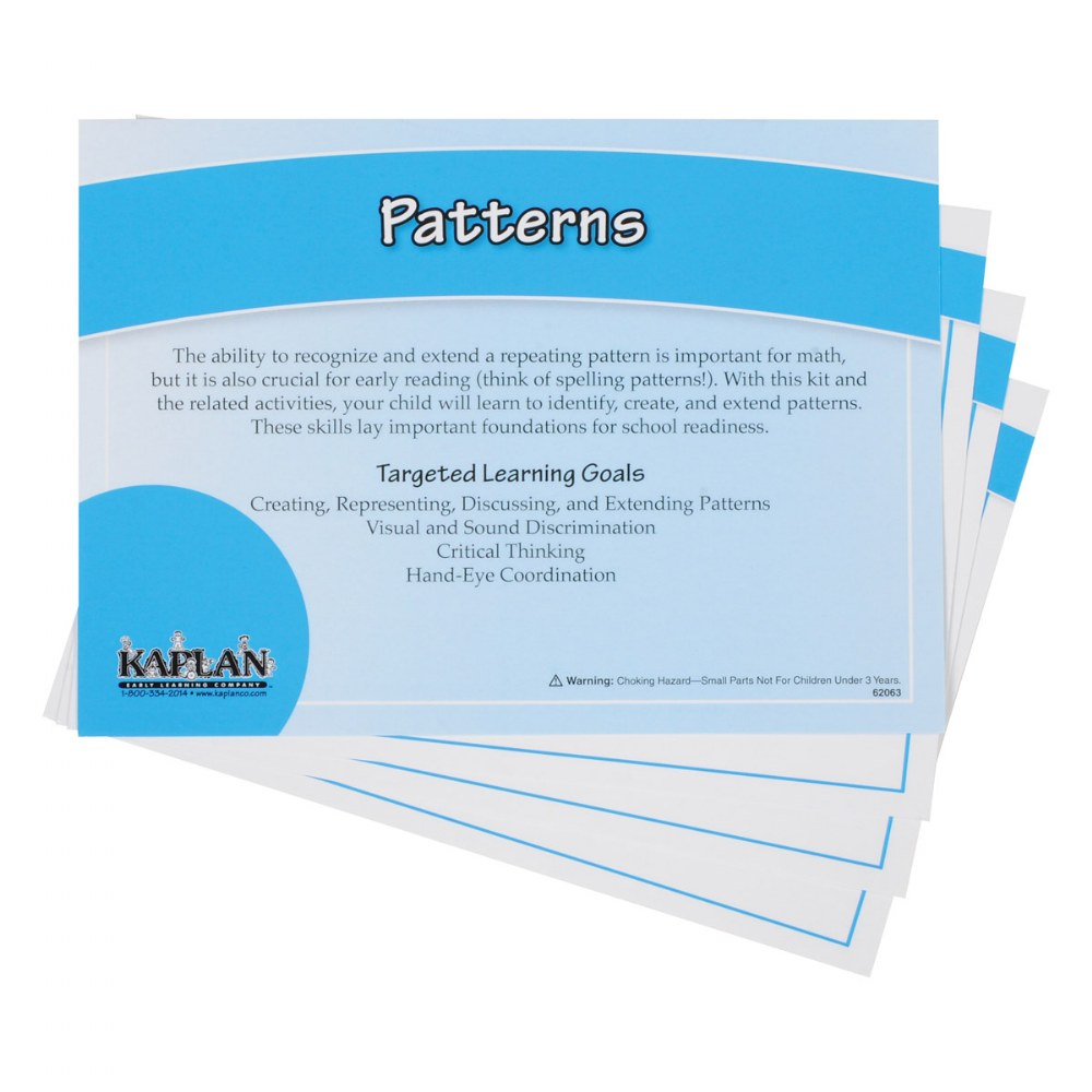 Alternate Image #1 of Back to Back Learning Kit - Patterns