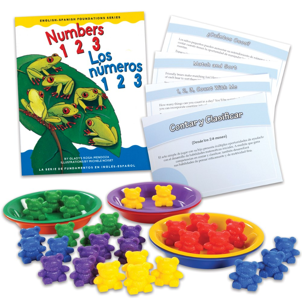 Counting & Sorting Learning Kit - Bilingual