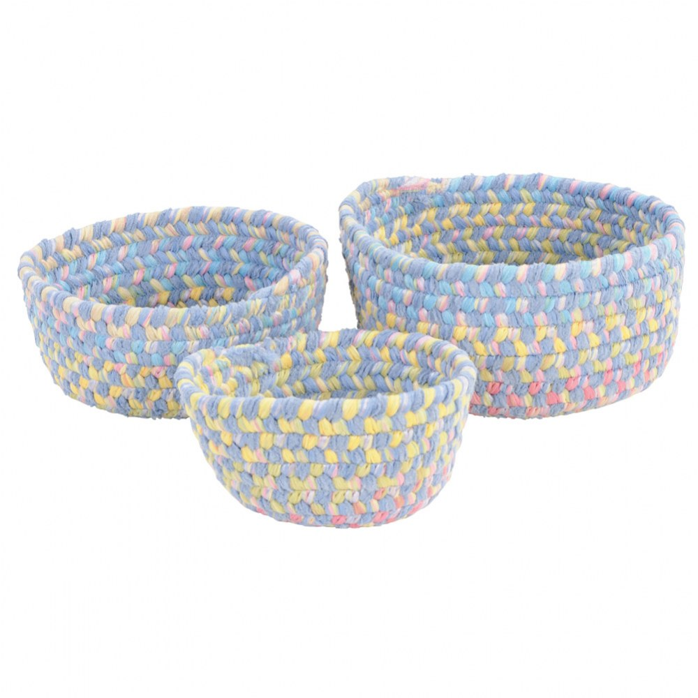 Botanical Isle Nesting Baskets (Set of 3)