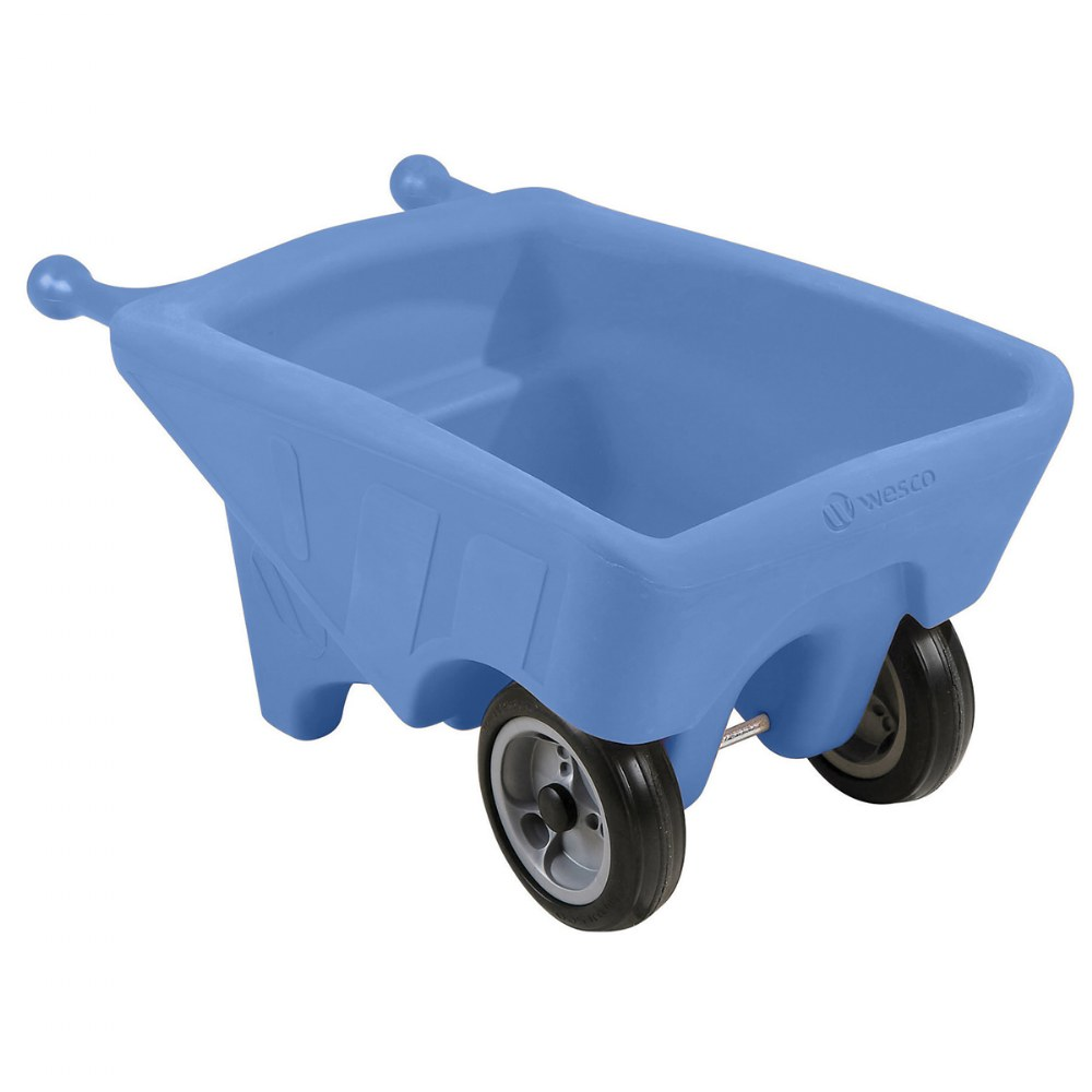 Toddler Sized Small Wheelbarrow in Blue