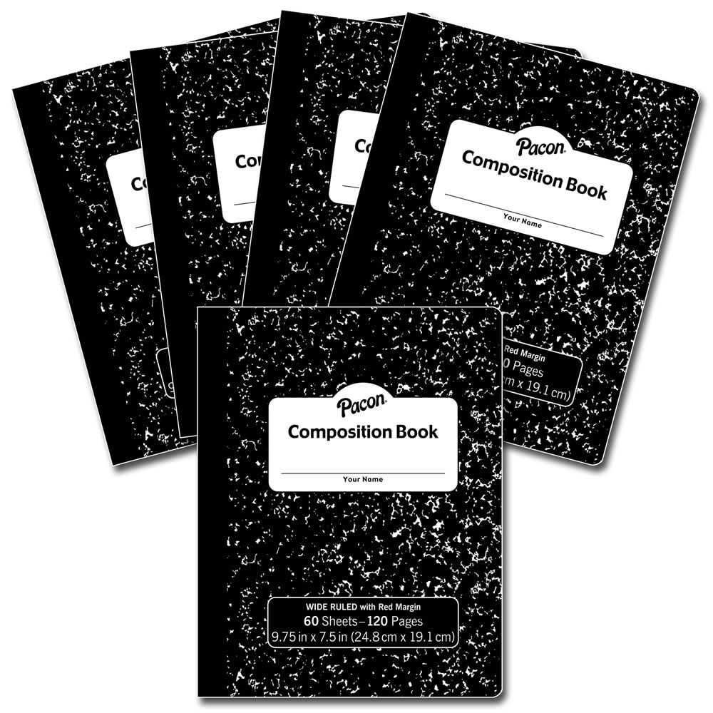 Composition Books (Set of 5)