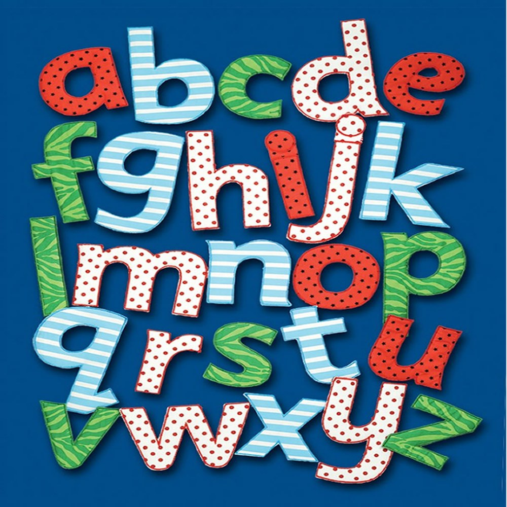 Alternate Image #1 of Feely Fabric Lowercase Letters