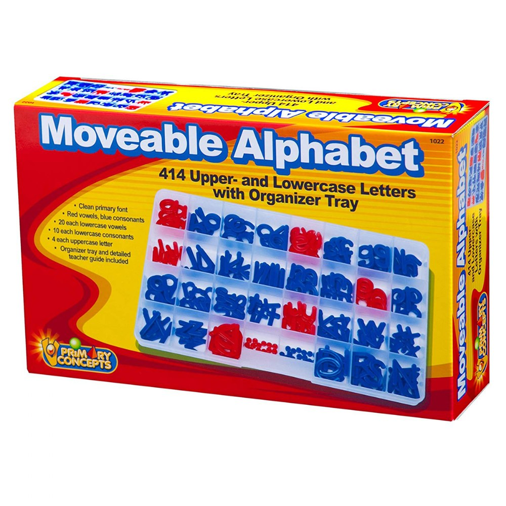 Alternate Image #1 of Moveable Alphabet Complete Set