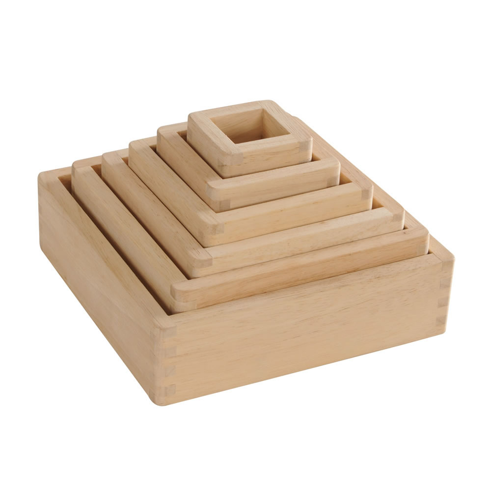 Alternate Image #7 of Wooden Framed Magnification Stacking Blocks