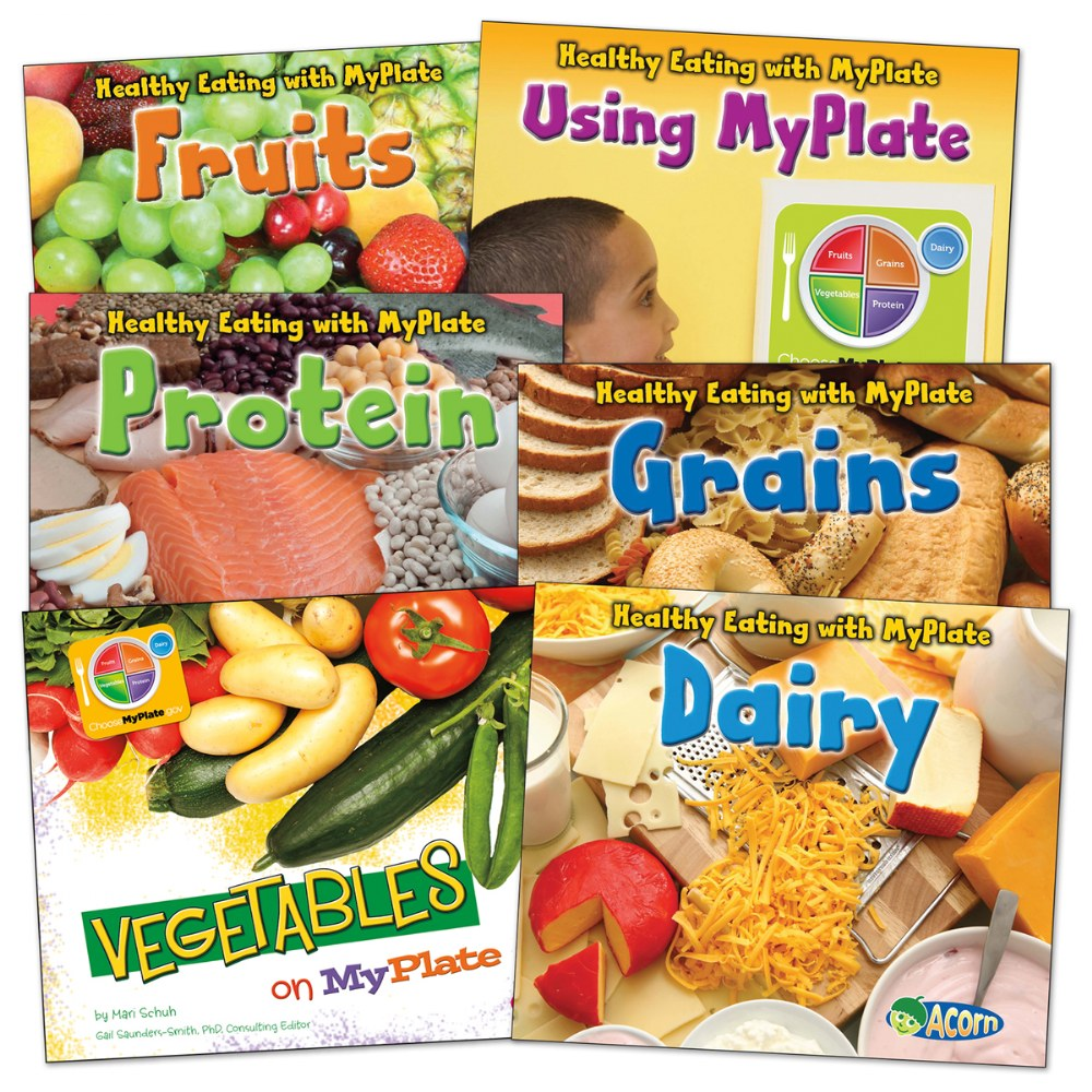 Healthy Eating with MyPlate Book Set - Set of 6