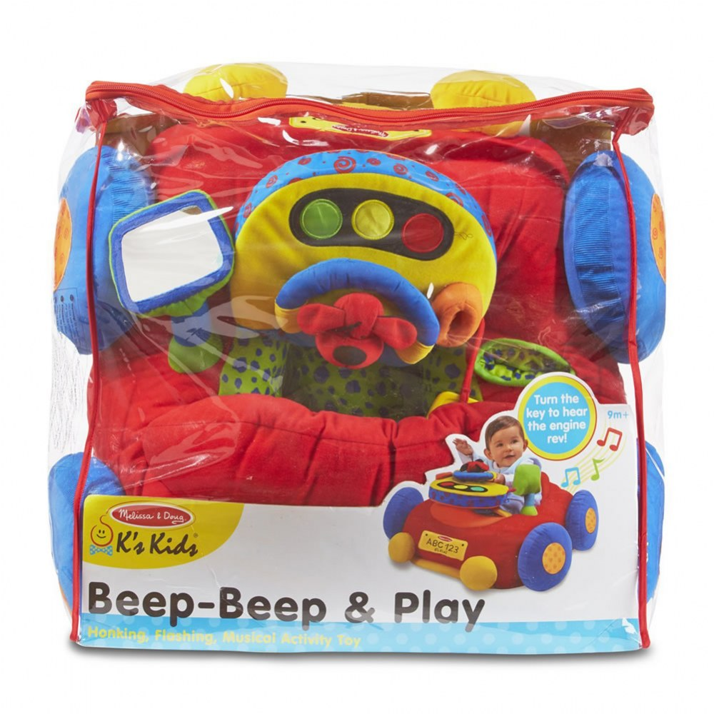 Alternate Image #2 of K's Kids Beep-Beep & Play Activity Car