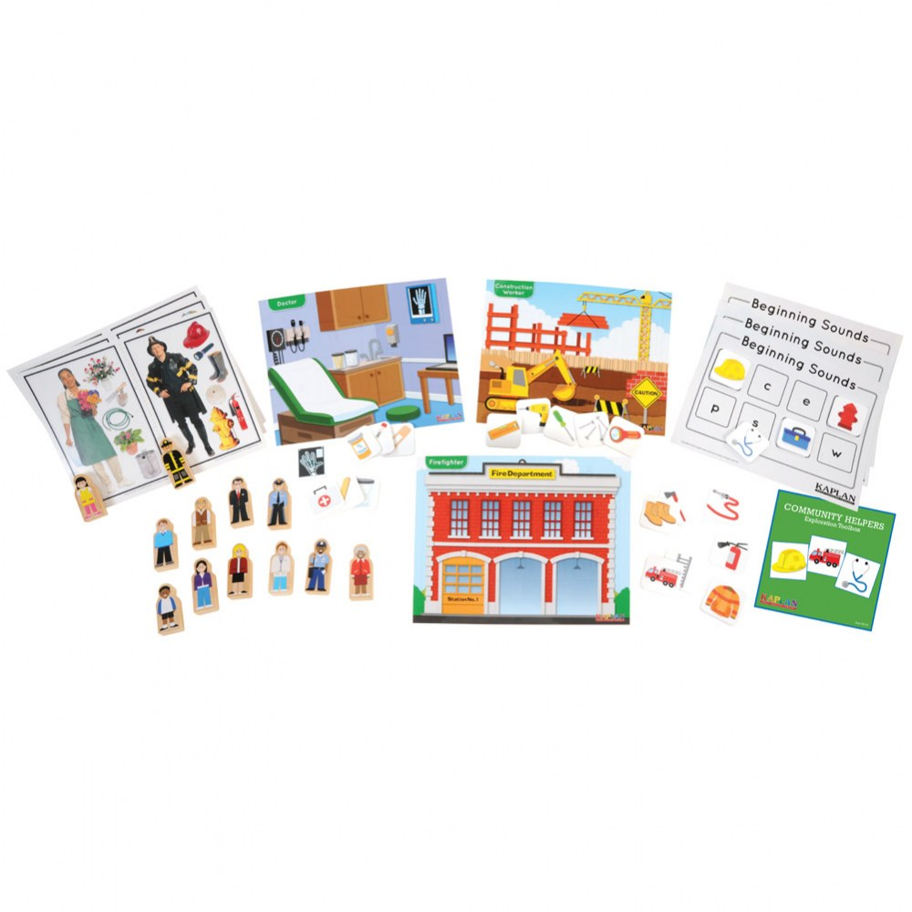 Community Helpers Exploration Toolbox