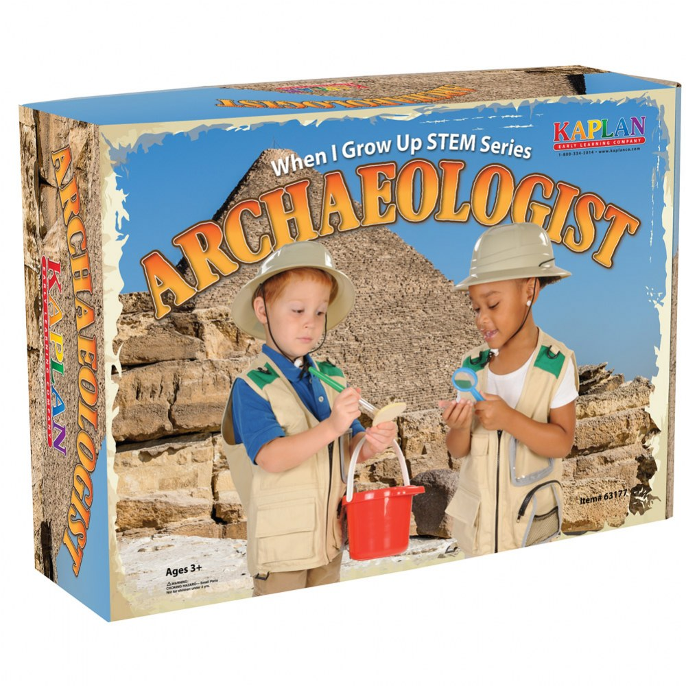 Alternate Image #5 of When I Grow Up STEM Series Archaeologist