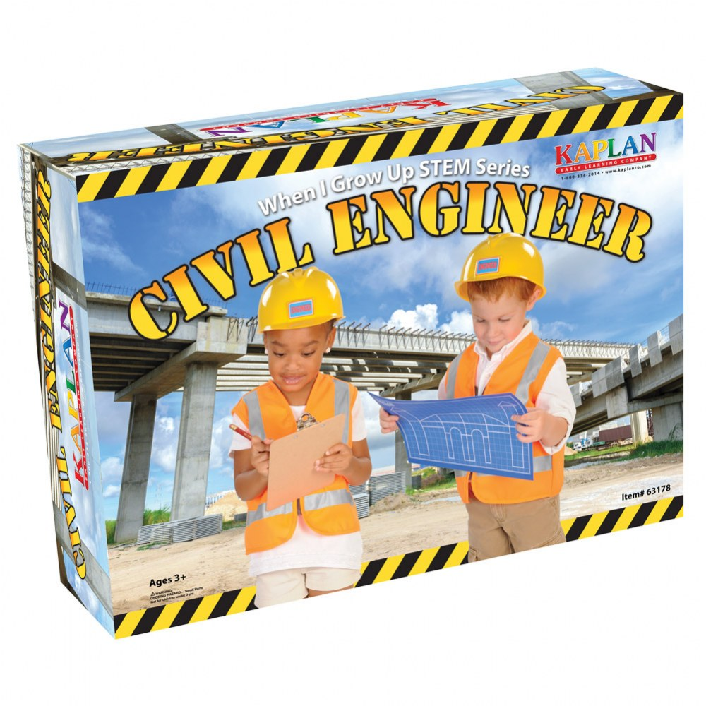 Alternate Image #10 of When I Grow Up STEM Series Civil Engineer