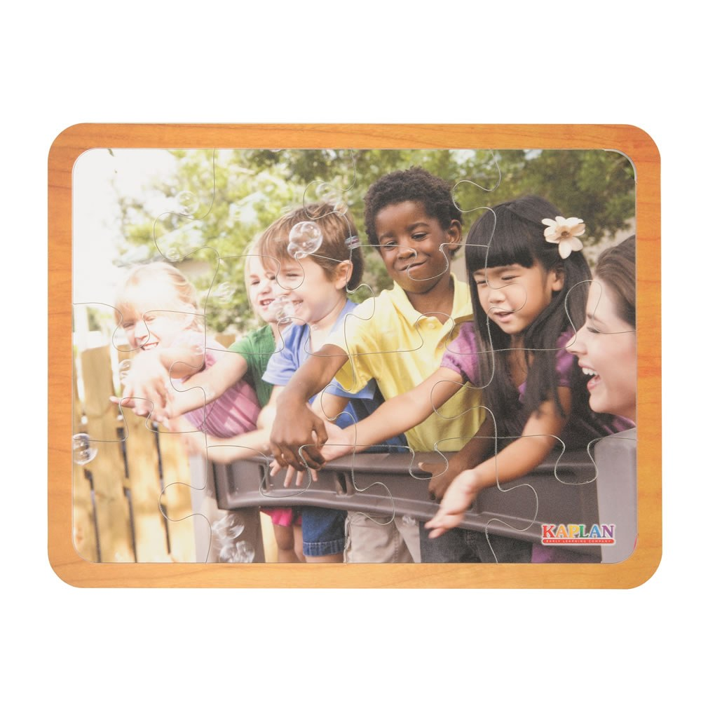 Alternate Image #4 of Friends Like Me Diversity Puzzles - Set of 4