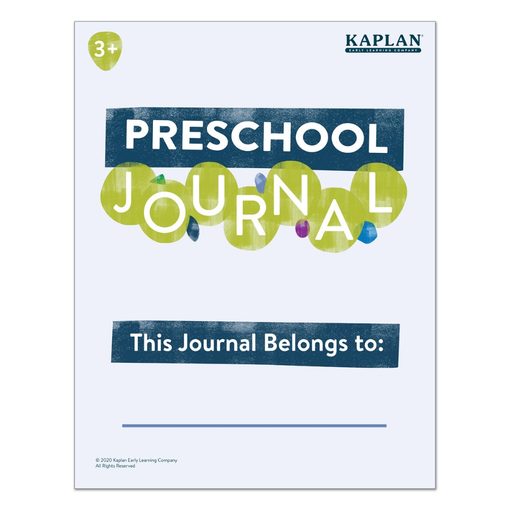Alternate Image #1 of Preschool Journals - Set of 10