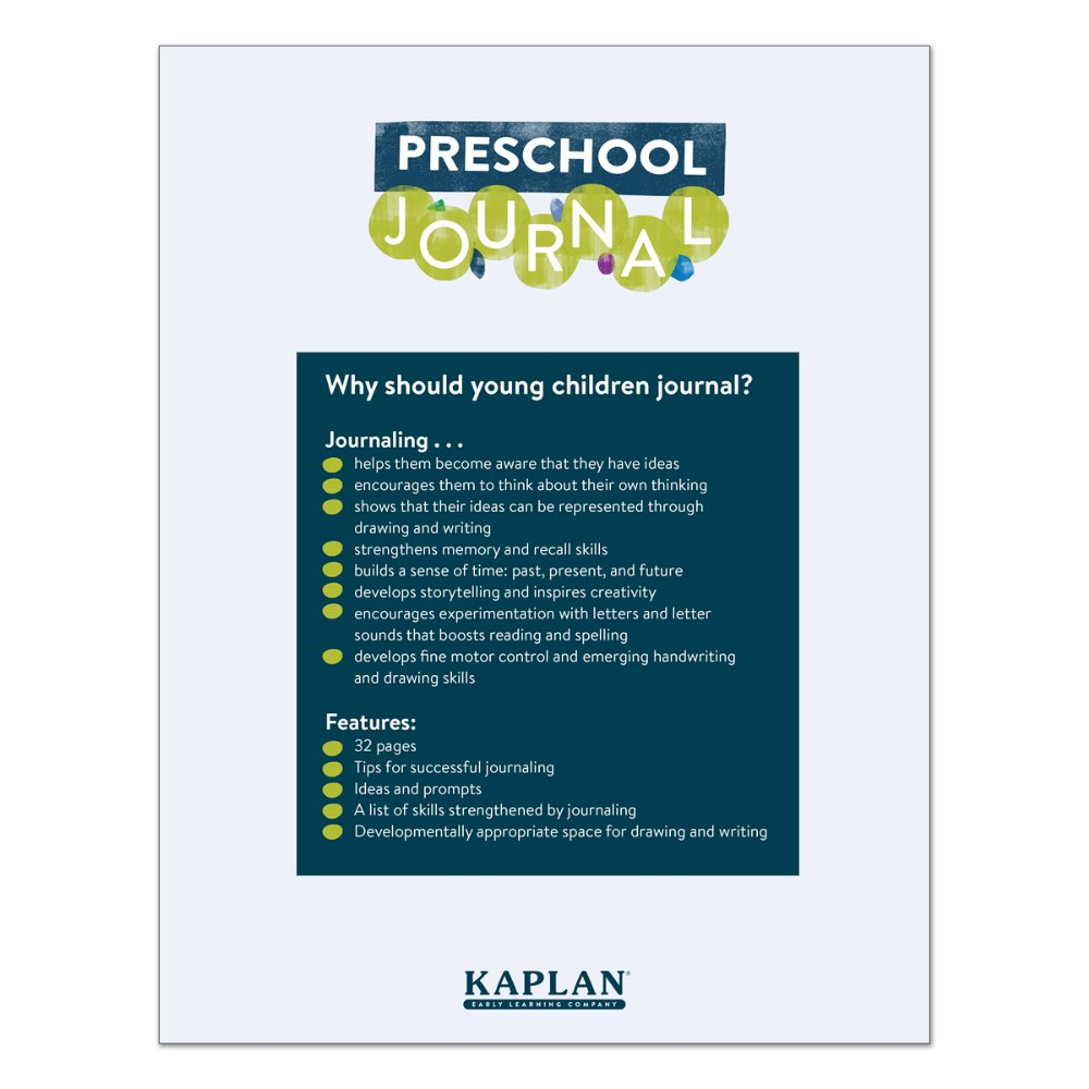 Alternate Image #2 of Preschool Journals - Set of 10