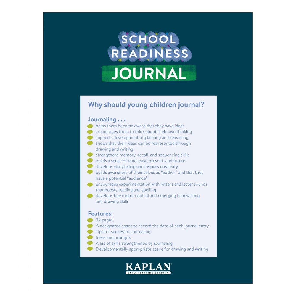 Alternate Image #2 of School Readiness Journals - Set of 10