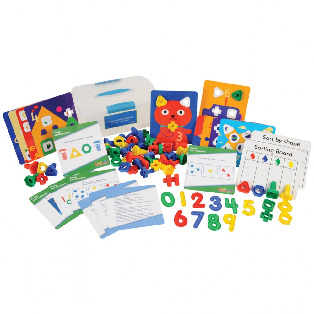 Alternate Image #1 of School Readiness Math Toolboxes (Set of 4)
