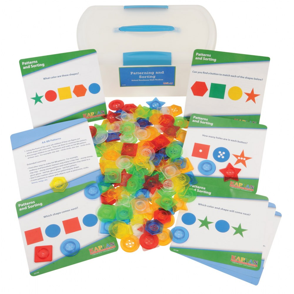 Alternate Image #2 of School Readiness Math Toolboxes (Set of 4)