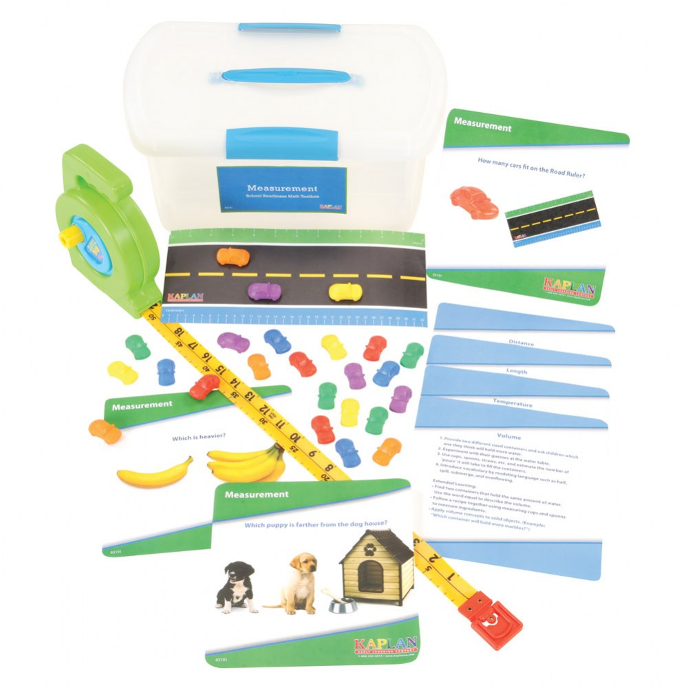 Alternate Image #3 of School Readiness Math Toolboxes (Set of 4)