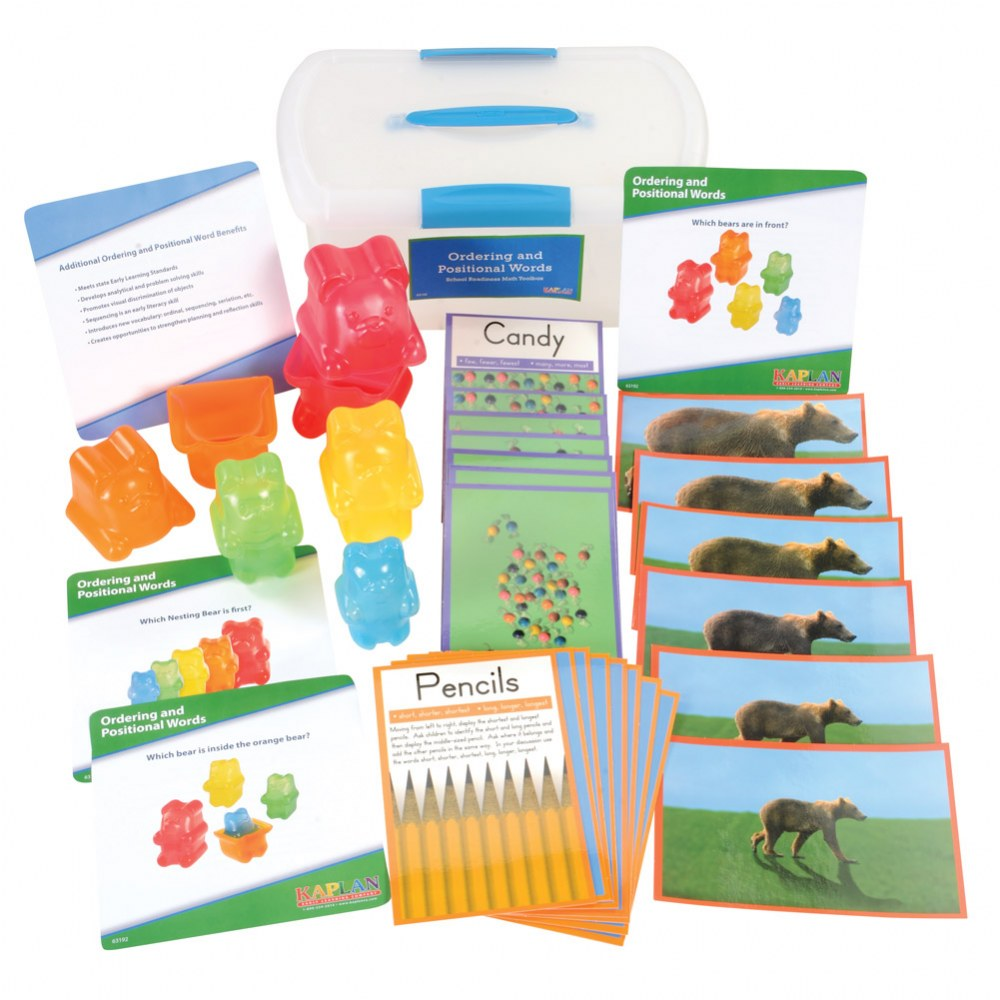 Alternate Image #1 of Ordering and Positional Words School Readiness Math Toolbox