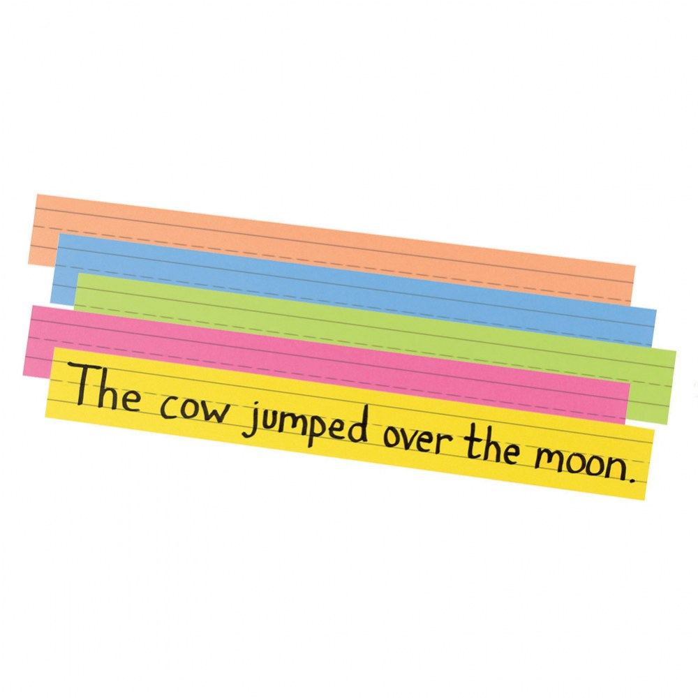 Super Bright Sentence Strips (100 Pack)