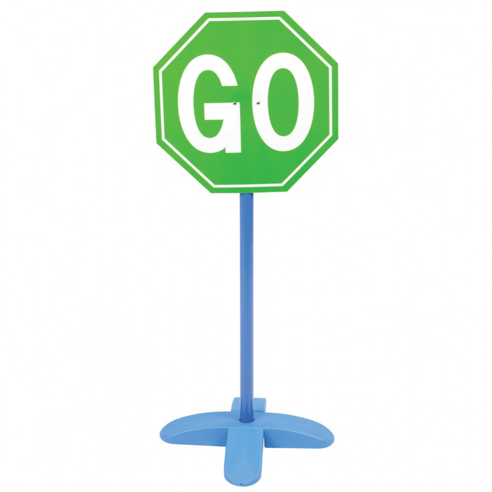 Alternate Image #2 of On the Go Traffic Signs - Set of 9
