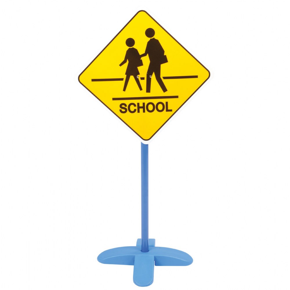 Alternate Image #5 of On the Go Traffic Signs - Set of 9
