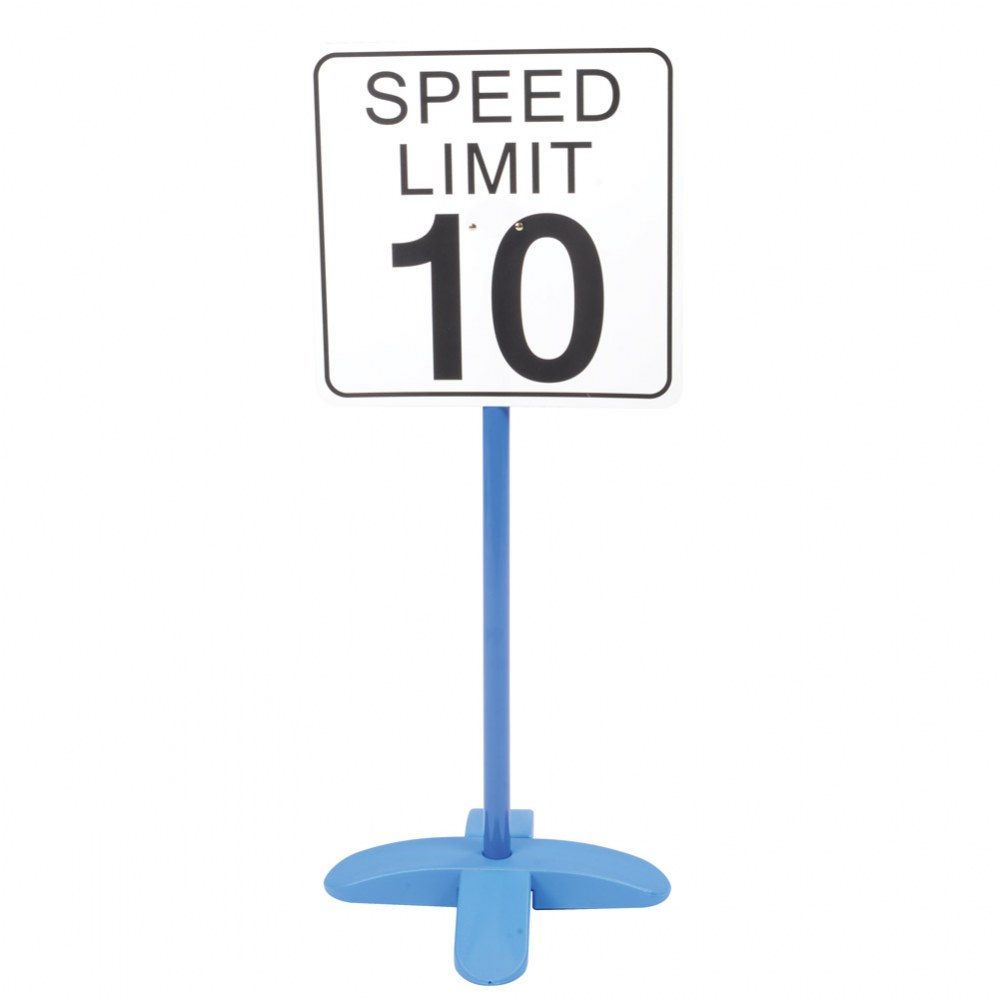 Alternate Image #6 of On the Go Traffic Signs - Set of 9