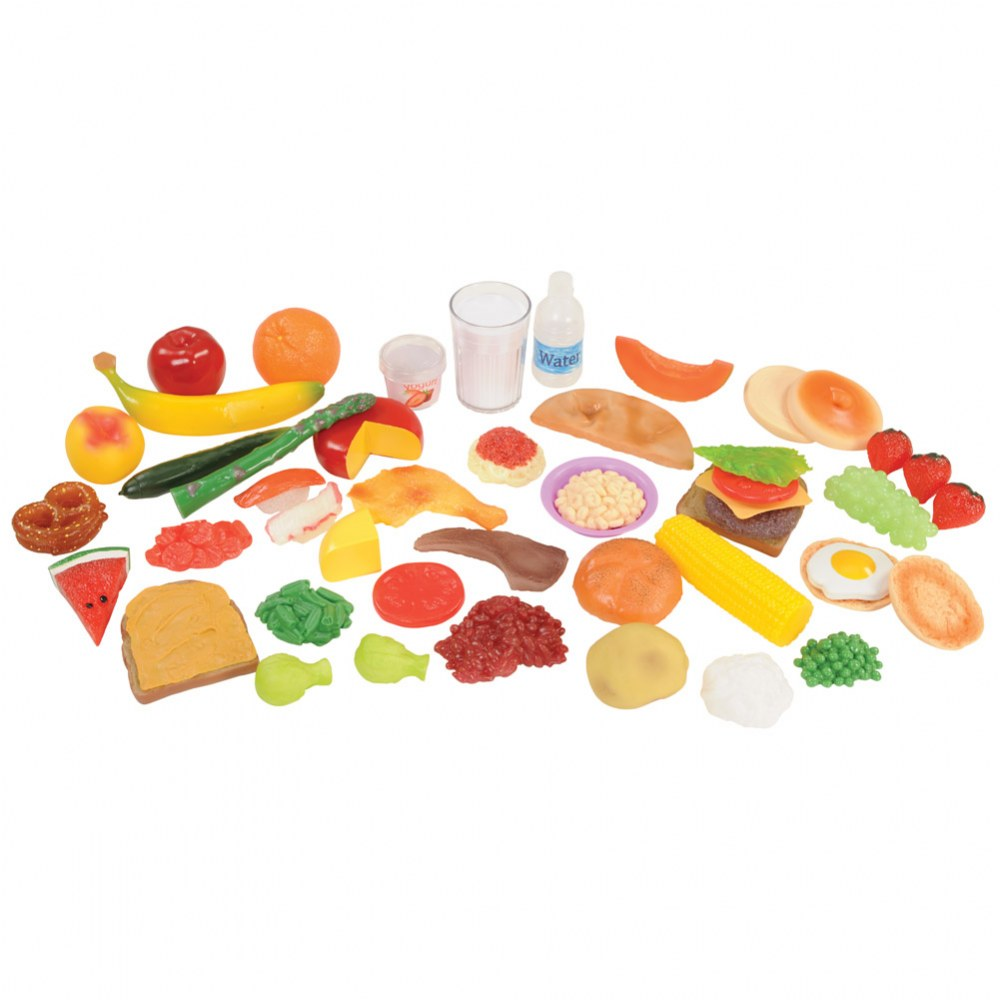 Pretend Play Healthy Eating Food Set of 48 Pieces