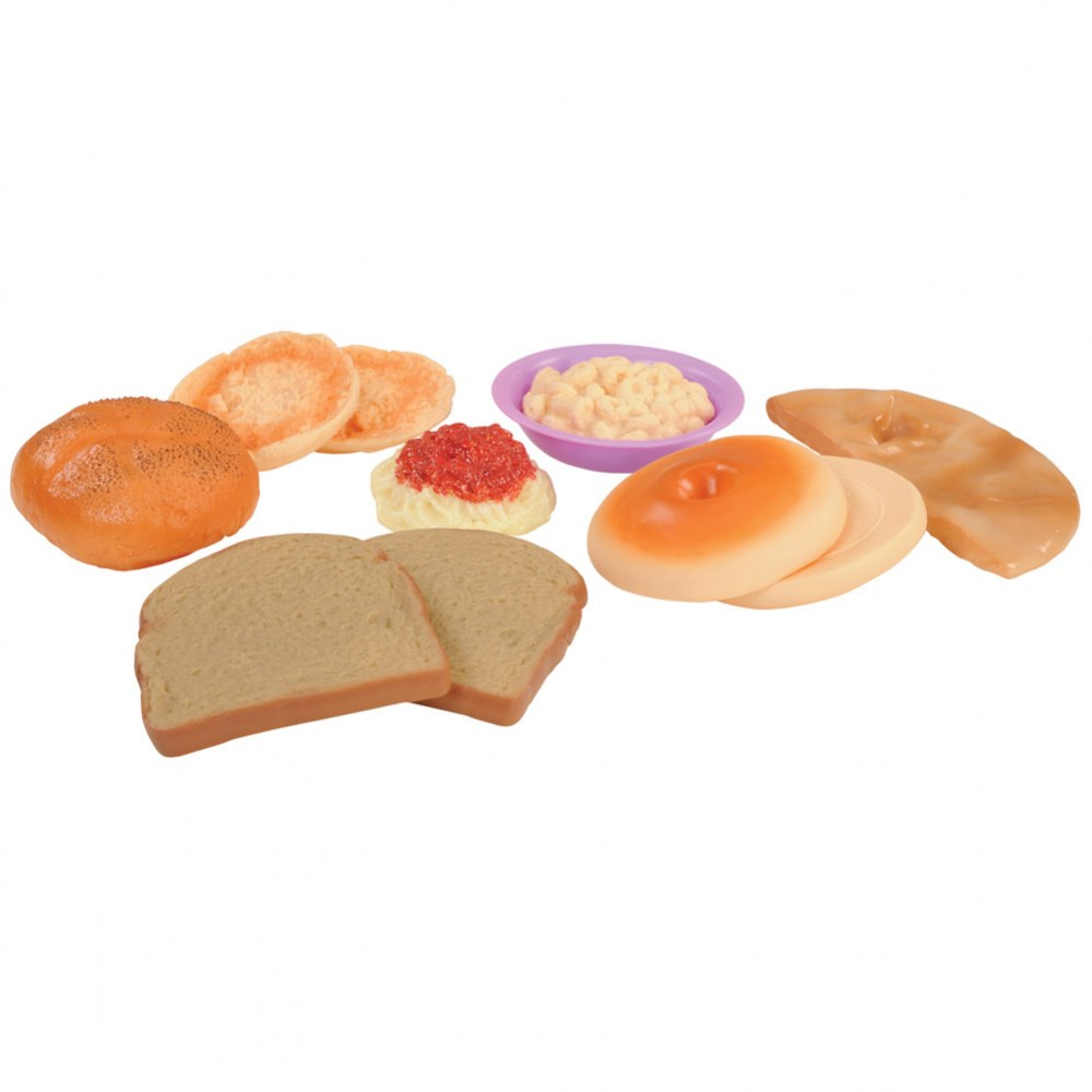 Alternate Image #2 of Pretend Play Healthy Eating Food Set of 48 Pieces