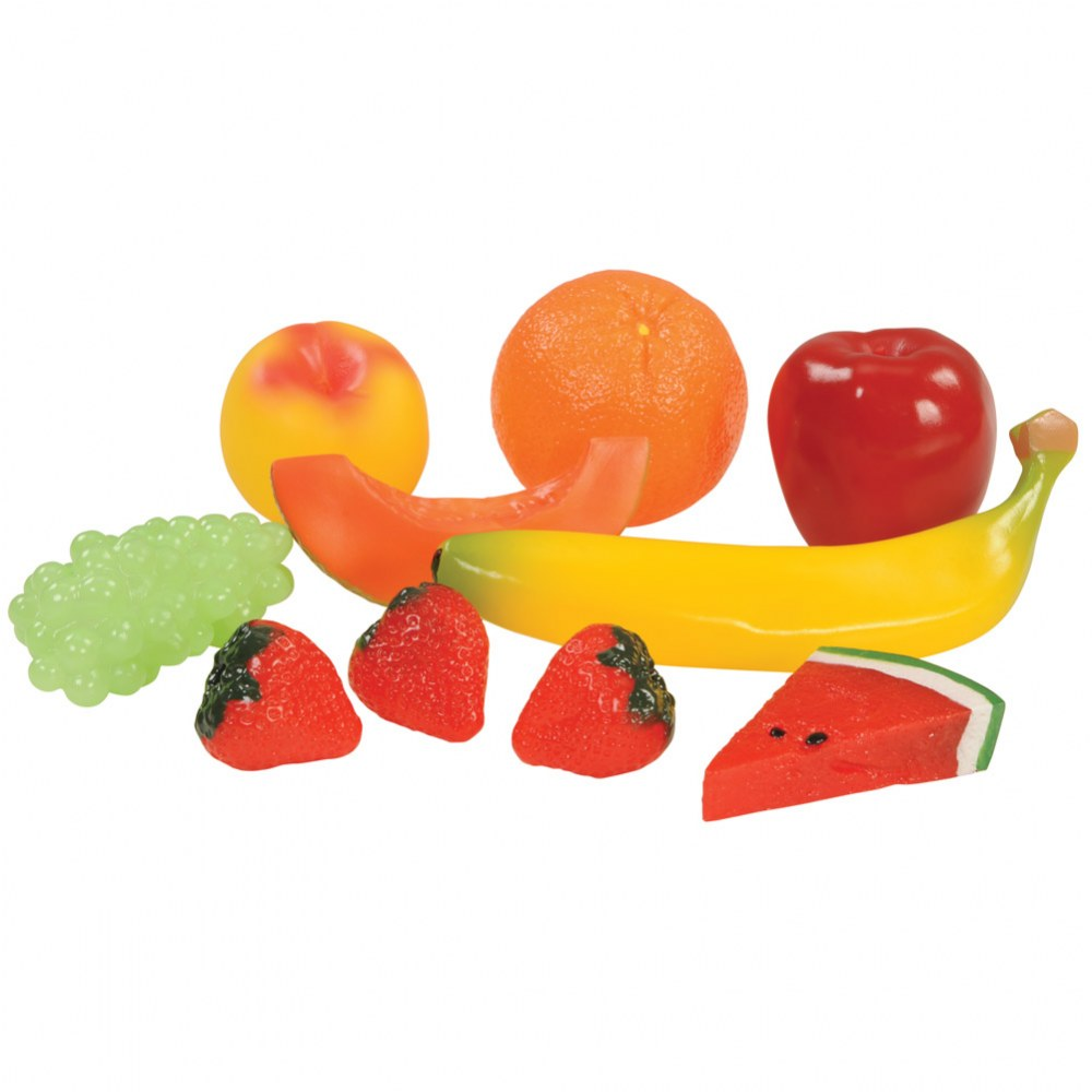 Alternate Image #3 of Pretend Play Healthy Eating Food Set of 48 Pieces