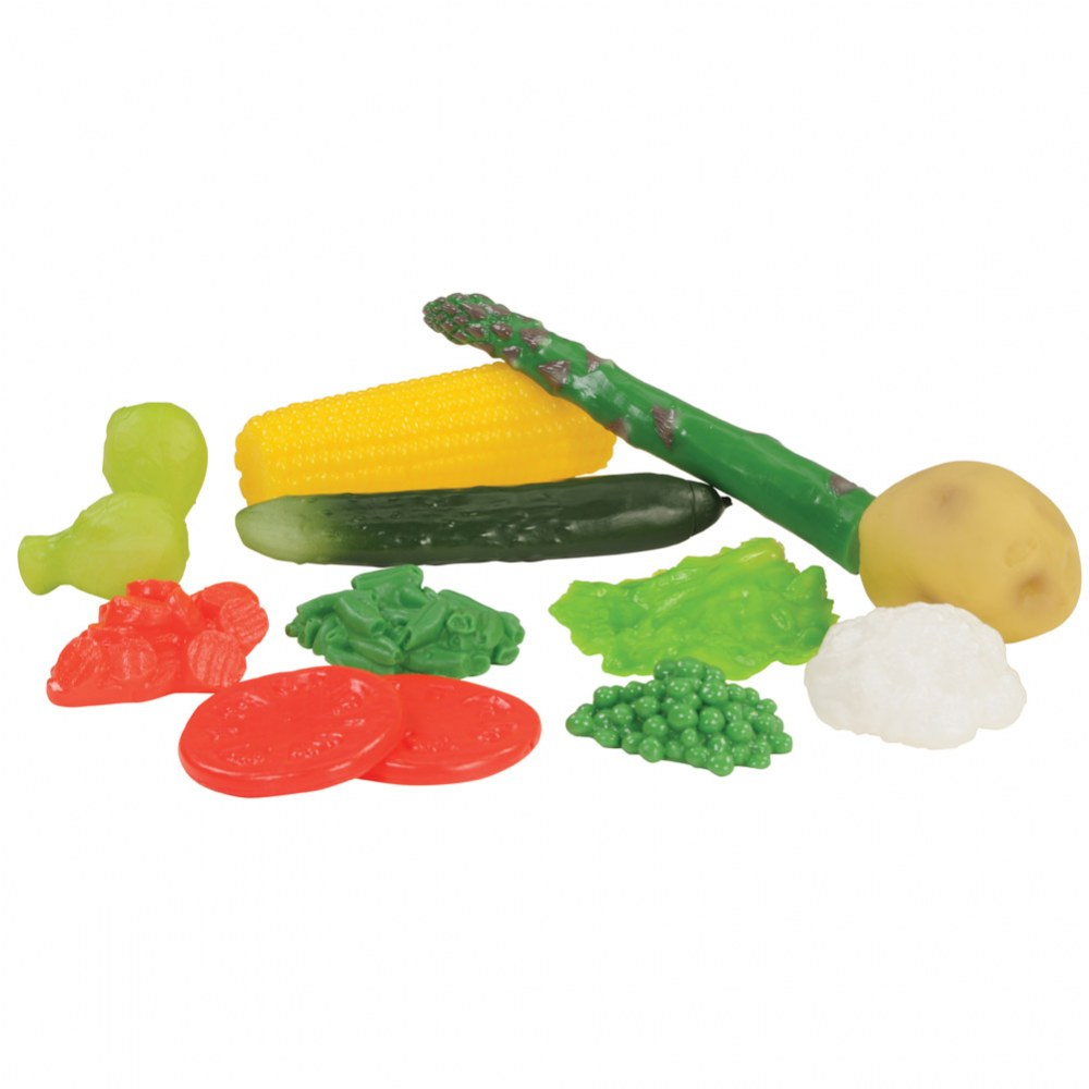 Alternate Image #4 of Pretend Play Healthy Eating Food Set of 48 Pieces