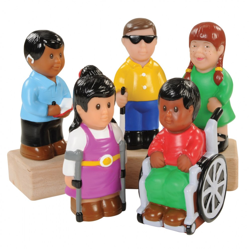Friends with Special Needs - Set of 5