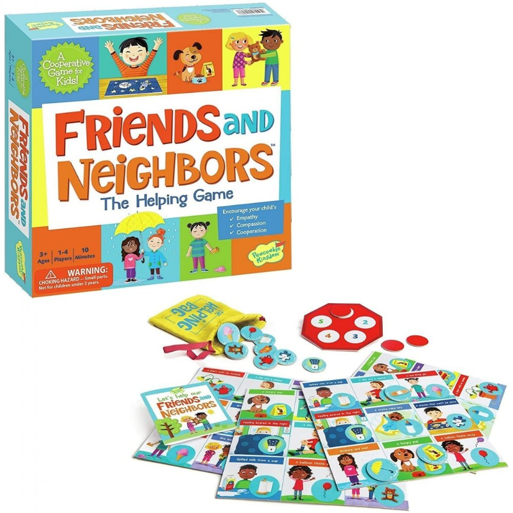 Friends & Neighbors: The Helping Game