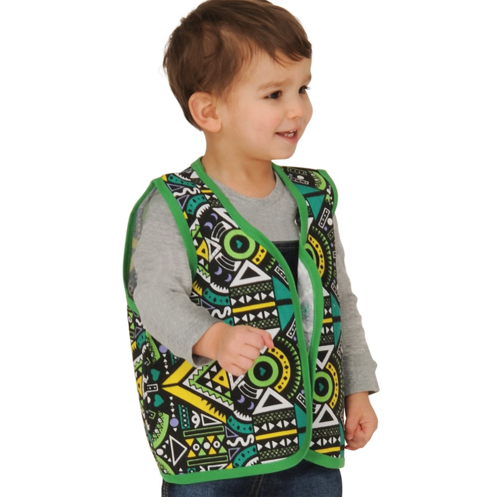 Alternate Image #1 of Toddler Multicultural Vests - Set of 5